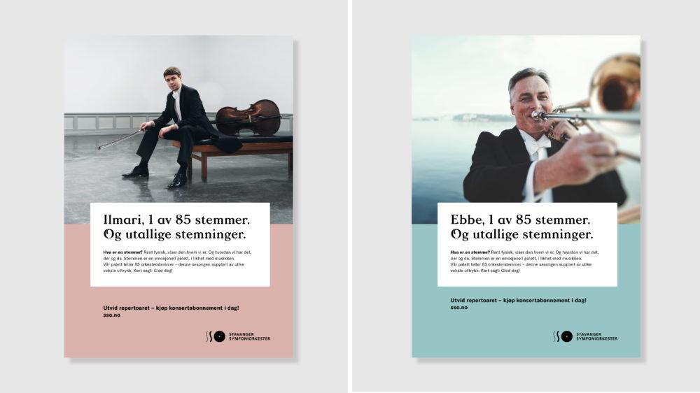 Eli Tangen med Sesongkort for Stavanger Symfoniorkster