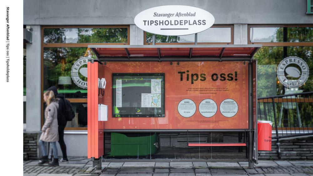 """procontra med Stavanger Aftenblad - """"Tipsholdeplass"""""""