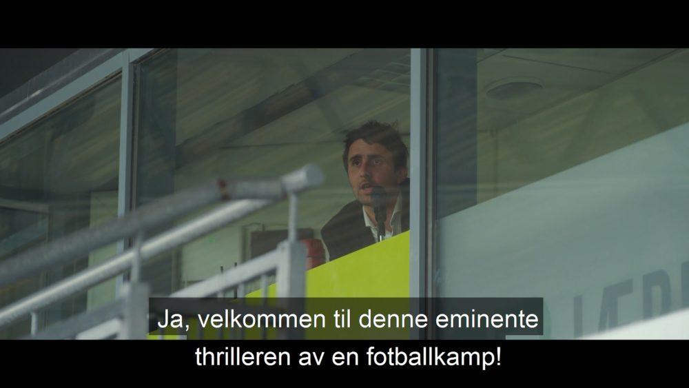 Vinterfilm AS med Vi dekker lokalfotballen