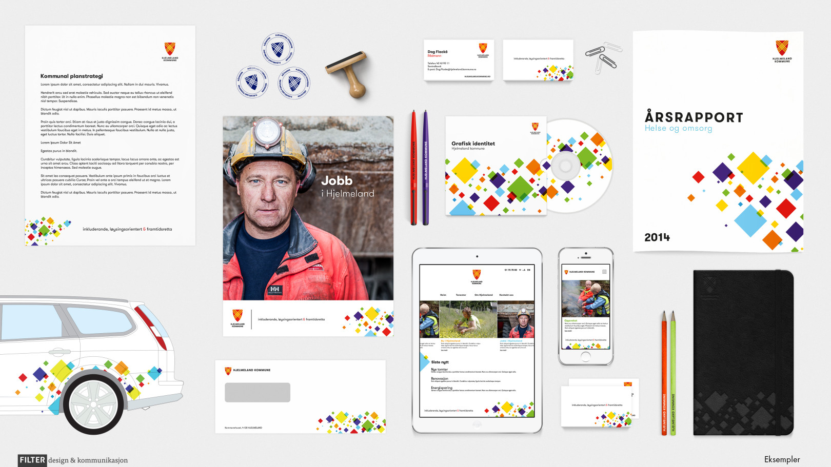 Filter design & kommunikasjon